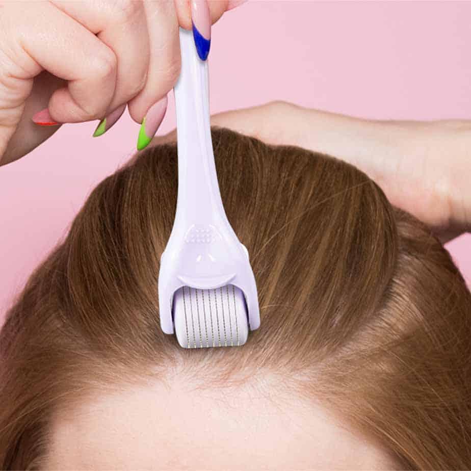 derma roller hair